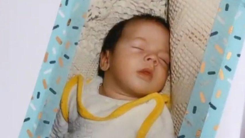Johannes Haller als Baby