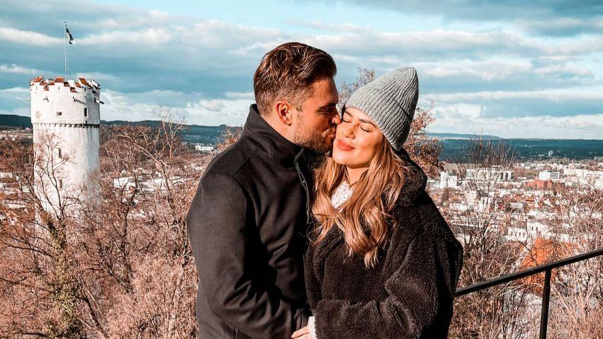 Johannes Haller und Jessica Paszka im Dezember 2020