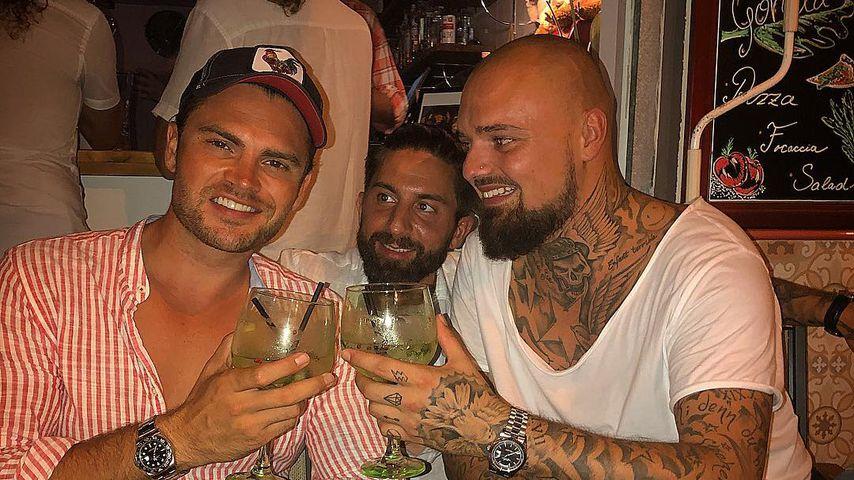 Johannes Haller, Sebastian Fobe und Niklas Schröder auf Mallorca