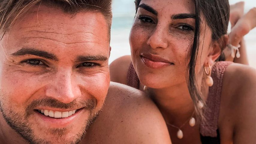 Johannes Haller und Yeliz Koc auf den Bahamas