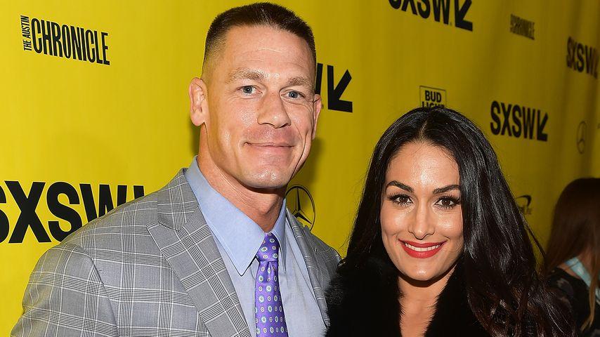 John Cena und Nikki Bella bei der SXSW-Konferenz in Texas