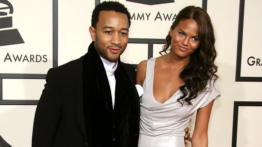 John Legend und Chrissy Teigen bei den Grammy Awards 2008