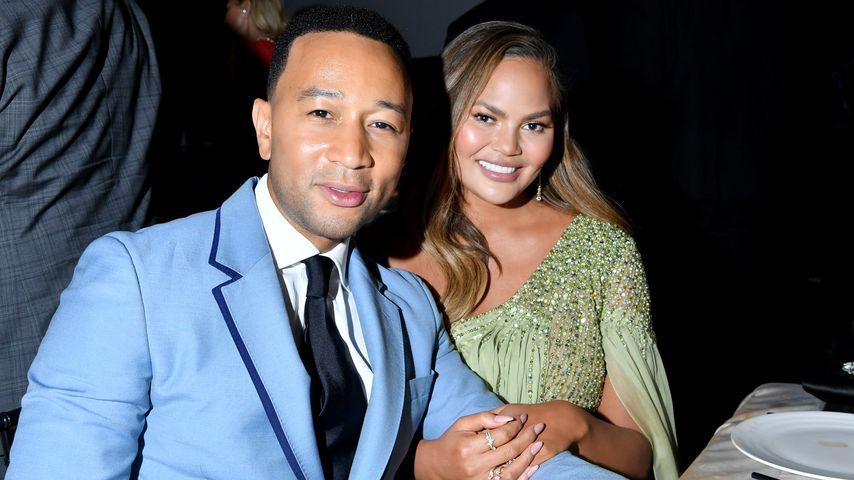 John Legend und Chrissy Teigen in Los Angeles im November 2019