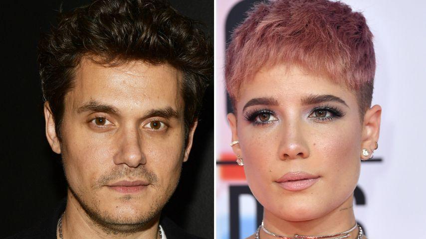 Flirtet Promi-Casanova John Mayer etwa mit Sängerin Halsey?