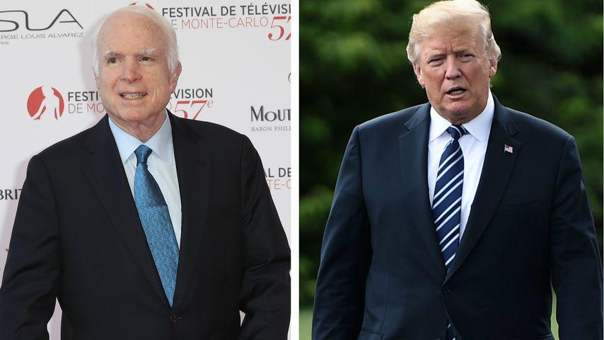 Vor dem Tod: McCain (†81) wollte Trump nicht auf Beerdigung!