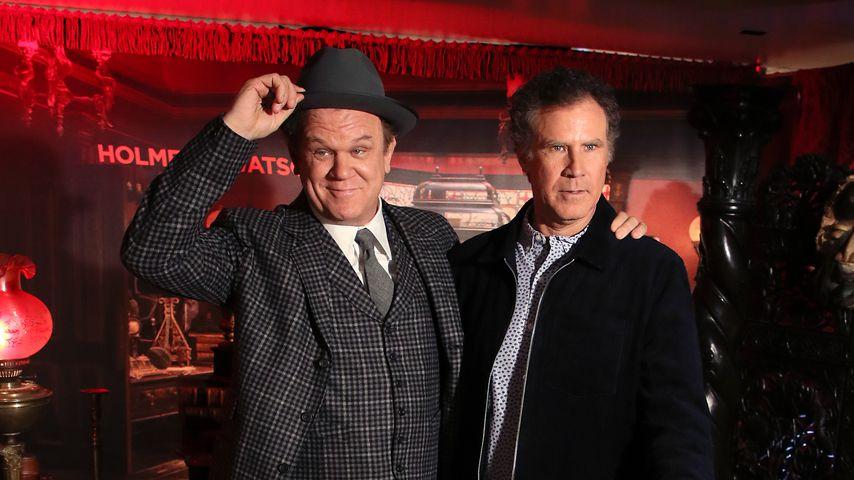 "John Reilly und Will Ferrell in ""Holmes and Watson"", Dezember 2018"