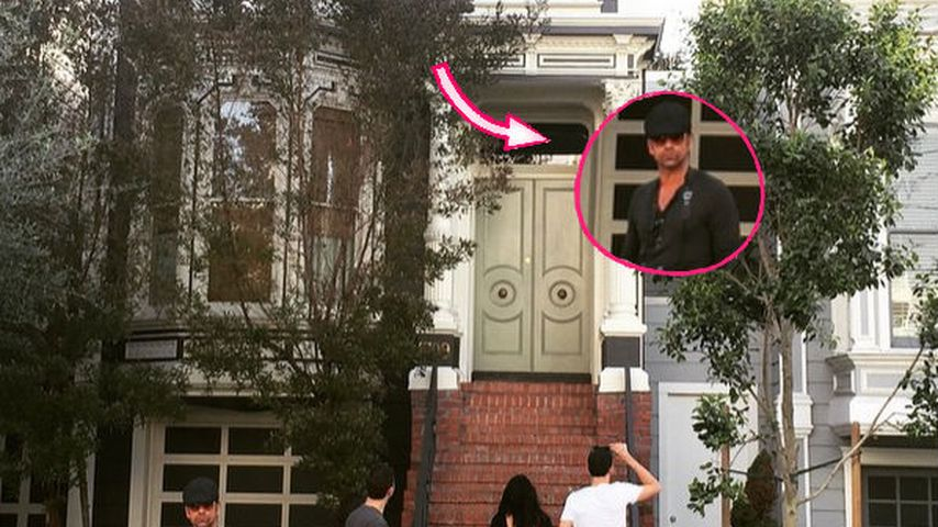 "John Stamos incognito: Zurück am ""Full House""-Haus"