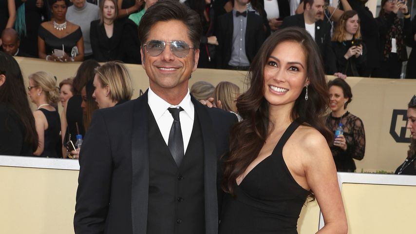 John Stamos and Caitlin McHugh bei den SAG Awards 2018