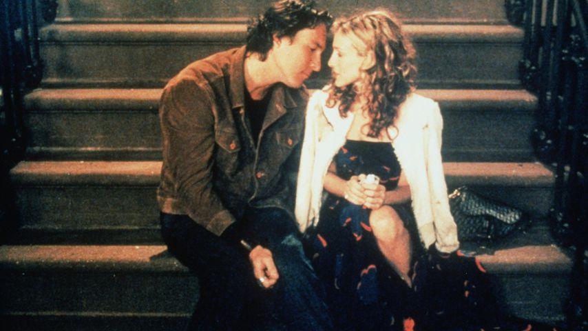 "John Corbett und Sarah Jessica Parker bei ""Sex and the City"""