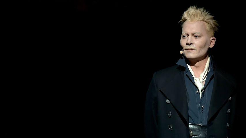 Johnny Depp als Grindelwald in