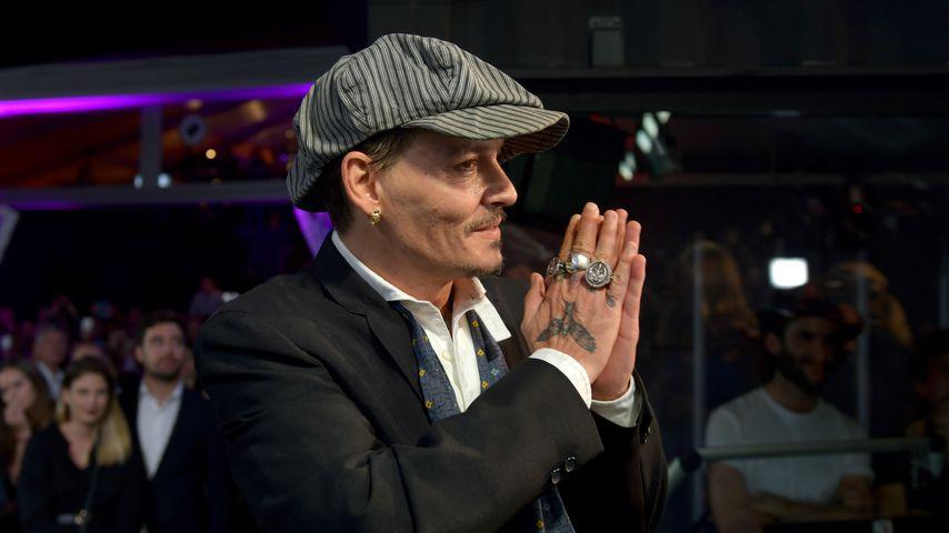 Hollywoodstar Johnny Depp bei den Züricher Filmfestspielen