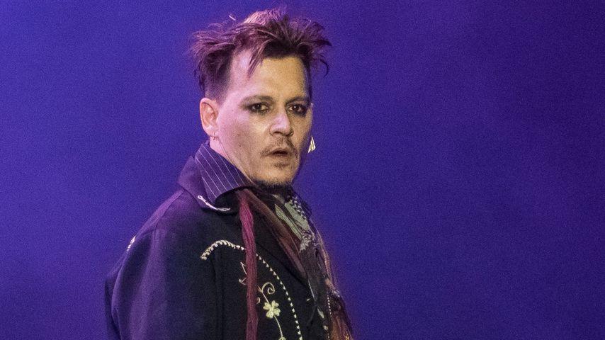 Er sieht zermürbt aus: Johnny Depp vom Rosenkrieg gezeichnet