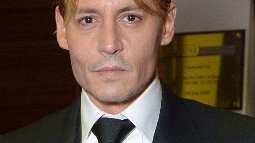 Straßenköter-Look?Johnny Depp ist jetzt blond!