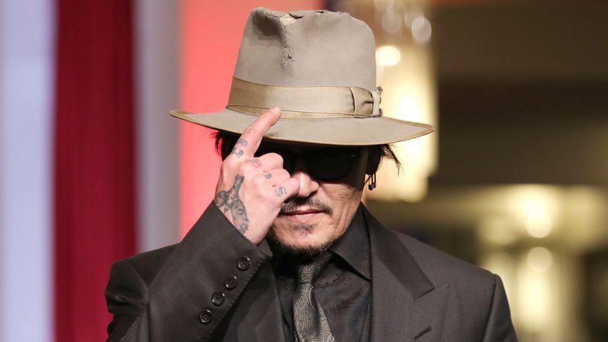 Johnny Depp auf der Berlinale im Februar 2020