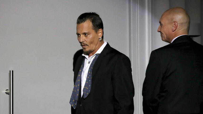 """""""Verlogen"""": Johnny Depps Walk-of-Fame-Stern wurde beschmiert"""