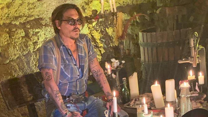 Endlich! Auch Johnny Depp zeigt sich jetzt auf Instagram