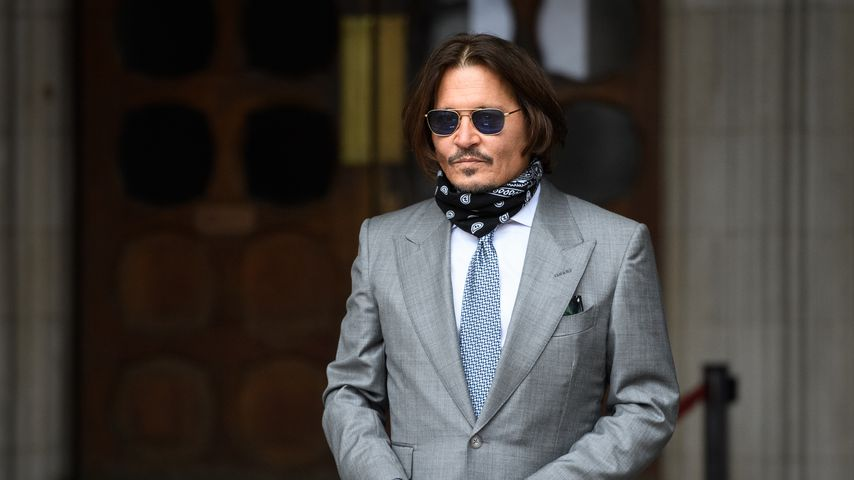 Johnny Depp im Juli 2020 in London