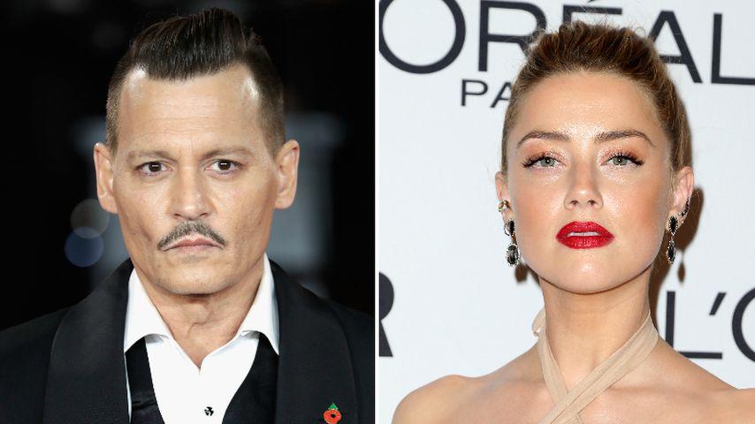 Prügelvorwurf von Ex Johnny Depp: Amber Heard streitet es ab