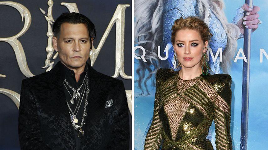 "Johnny Depp forderte Ambers ""Aquaman""-Aus bei Warner Bros."