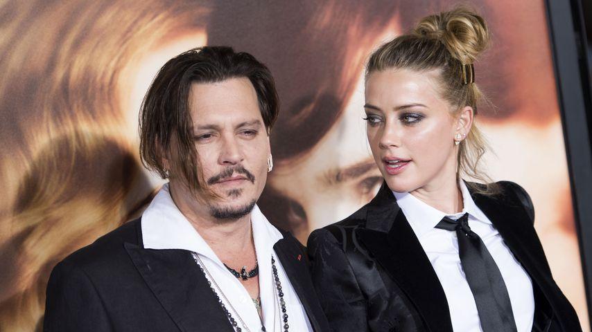 Johnny Depp und Amber Heard im Jahr 2015