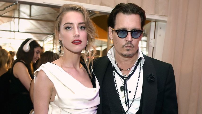 Johnny Depp und Amber Heard in Los Angeles, 2015