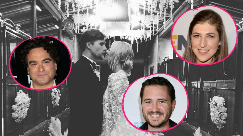 Bei Hochzeit von Kaley Cuoco: Auch TBBT-Kollegen waren da