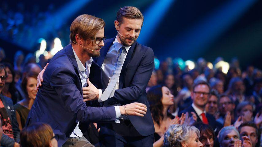 Joko Winterscheidt und Klaas Heufer-Umlauf beim Deutschen Comedypreis 2014