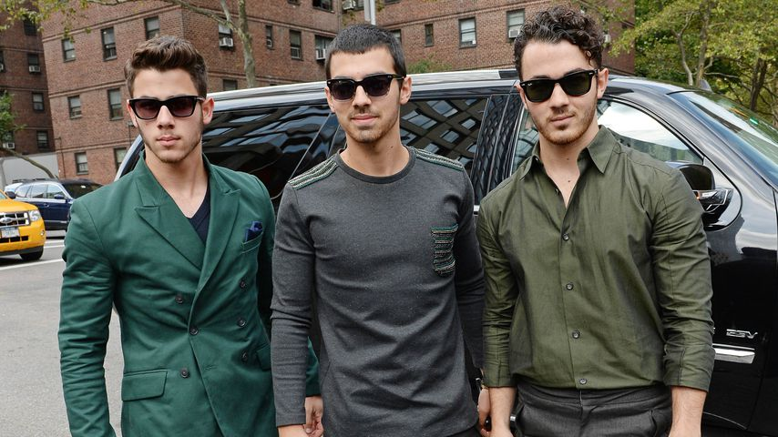 Jonas Brothers auf der New York Fashion Week
