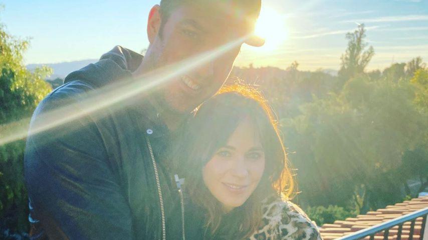 """""""Property Brothers""""-Star Jonathan Scott und """"New Girl""""-Darstellerin Zooey Deschanel"""