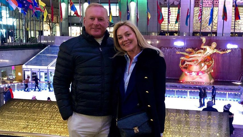 Jonathan Colby und Elisabeth Rohm in New York City