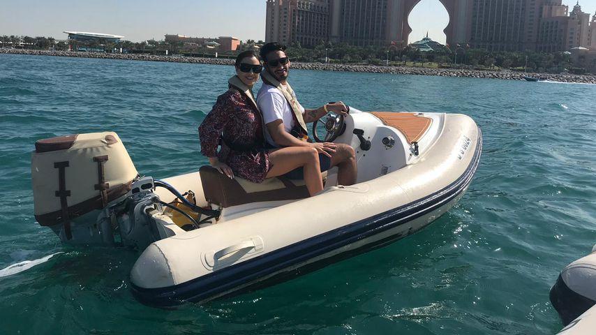 Jordan Carver und Umut Kekilli im Liebesurlaub 2019