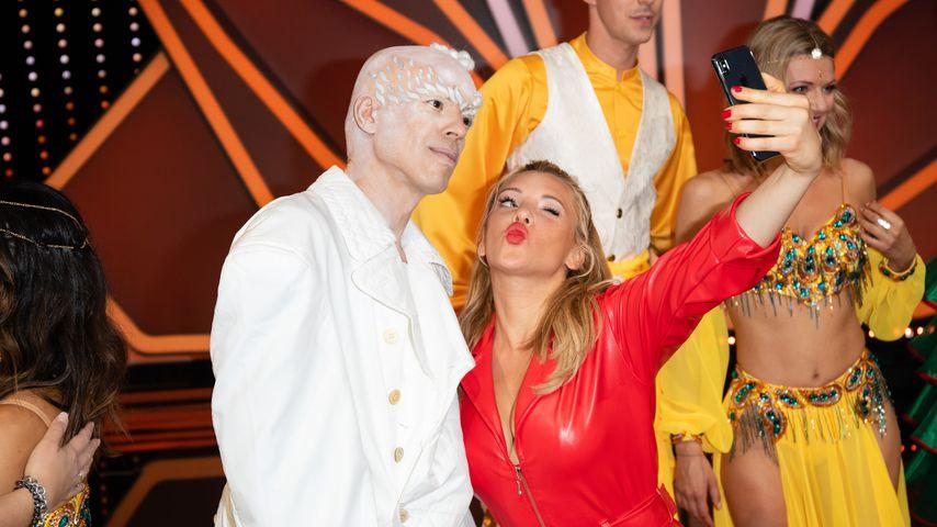 Jorge Gonzalez und Evelyn Burdecki