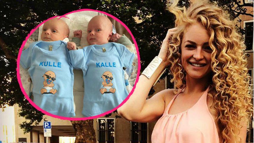 Josephine Welsch teilt lustiges neues Foto von ihren Twins