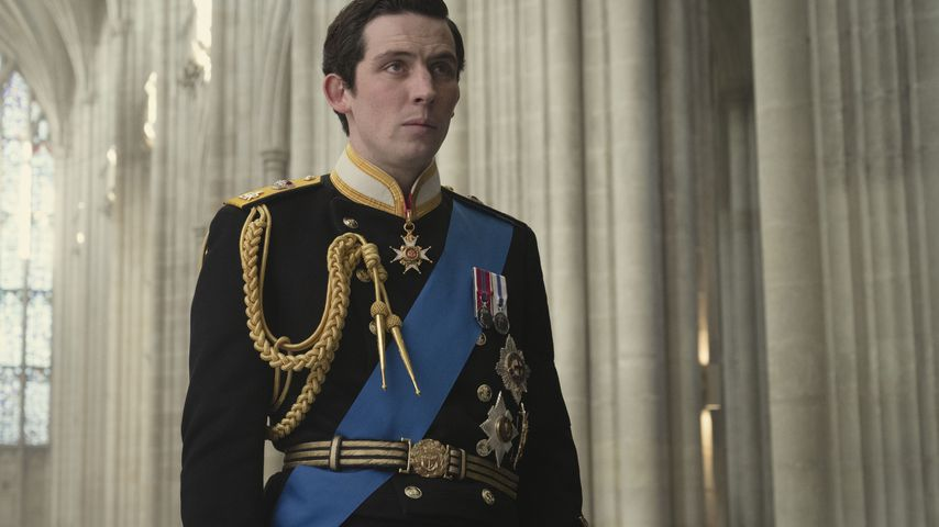 "Josh O'Connor als Prinz Charles in ""The Crown"""