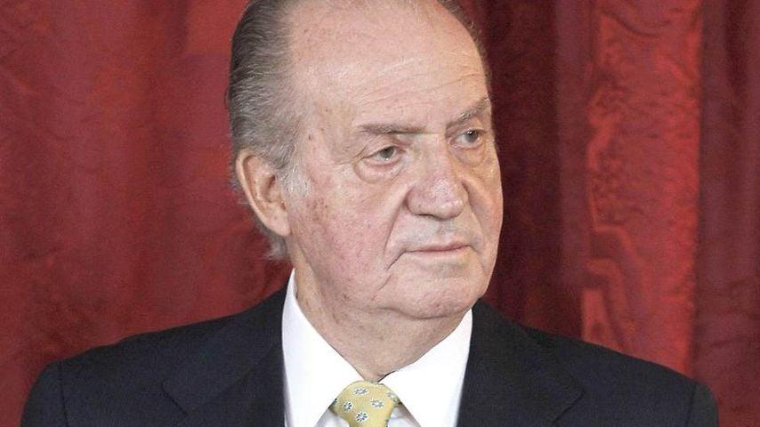 König Juan Carlos nach OP von Familie umringt