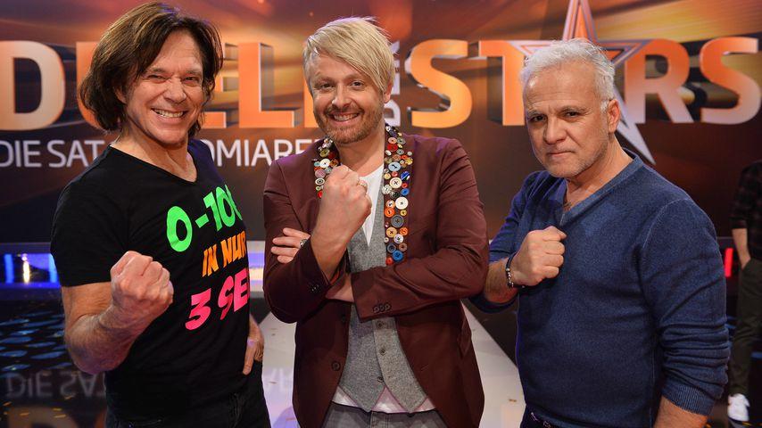 """Jürgen Drews, Ross Antony und Nino de Angelo beim """"Duell der Stars"""" auf Sat.1"""