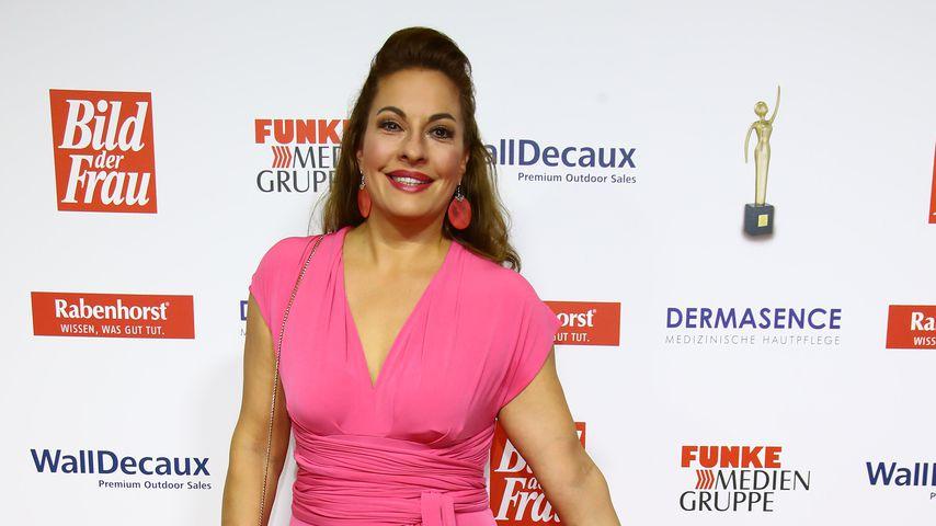 Julia Dahmen bei einer Verleihung in Hamburg, November 2018