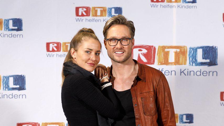 Julia Prokopy und Nico Schwanz beim RTL-Spendenmarathon