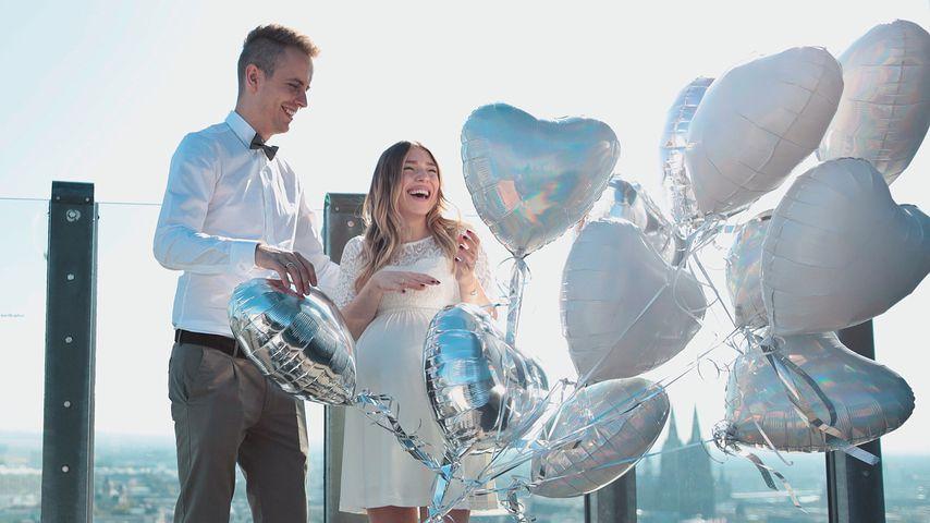 Überglücklich: Schwangere Bibi und Julian haben geheiratet!
