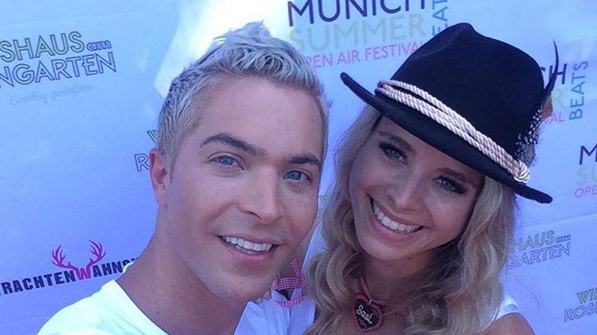 Julian David und Saskia Atzerodt in München