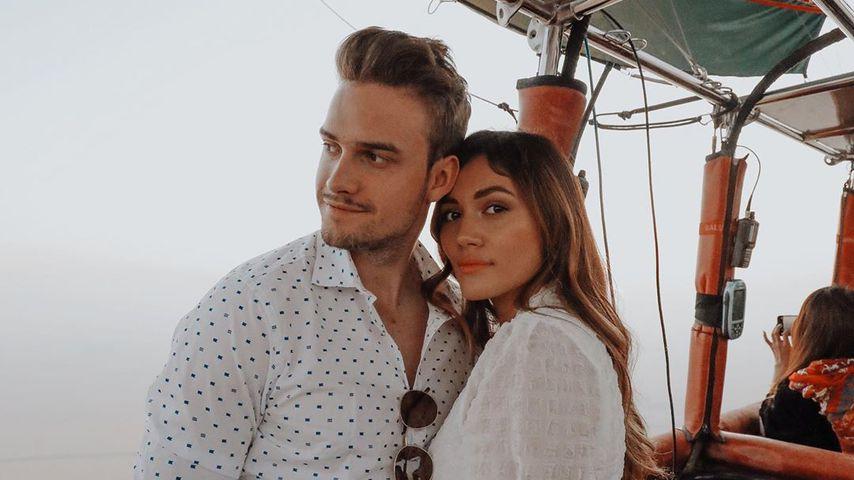 Julian Gutjahr und Anna Maria Damm in Dubai