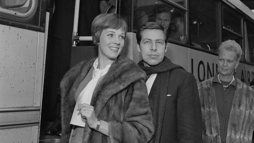 Julie Andrews und Tony Walton 1963