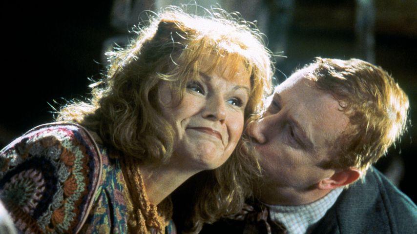 """Julie Walters und Mark Williams als Molly und Arthur Weasley in """"Harry Potter"""""""