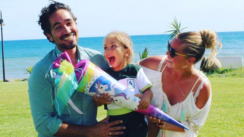 Julio, Alaia und Rebecca Kratz