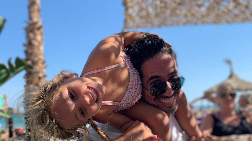 Julio und Tochter Alaia