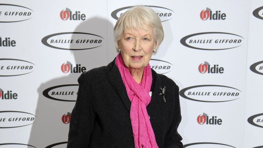 "June Whitfield bei den ""Oldie of the Year""-Awards 2013"