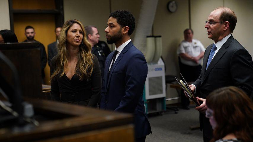 Jussie Smollett bei einer Anhörung im März 2019