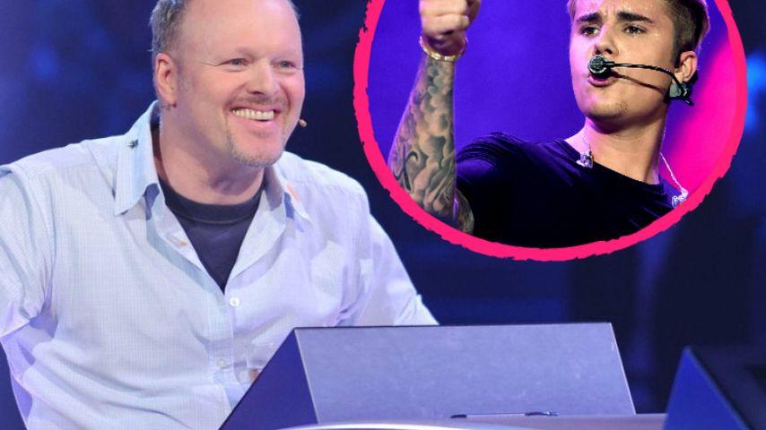 """Zurück in Deutschland: Justin Bieber bei """"Schlag den Raab"""""""