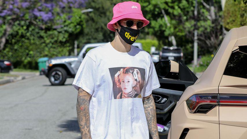 Justin Bieber, Mai 2020