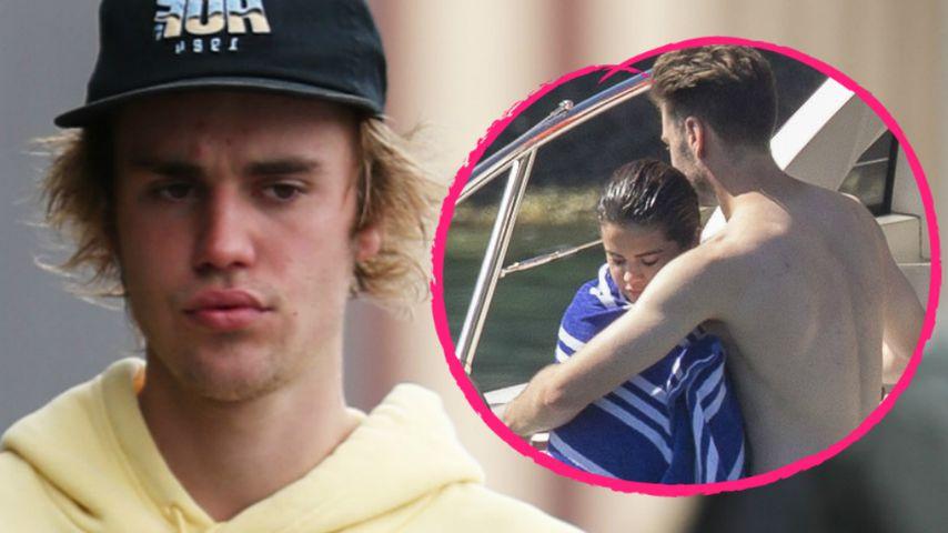 Nicht Justin! Welcher Hottie tröstet Selena hier so innig?